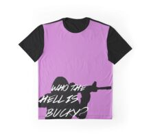 Who The Hell Is Bucky? Graphic T-Shirt