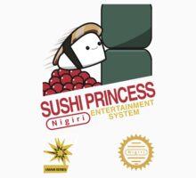Sushi Princess: Retro Kids Tee