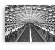 Washington DC Chinatown Station Canvas Print