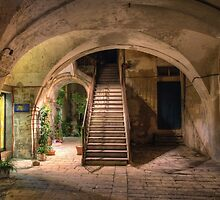 Old House in Modica by Xandru