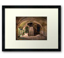 Old House in Modica Framed Print