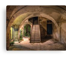 Old House in Modica Canvas Print