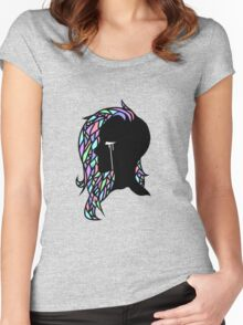 Crystal Hair Women's Fitted Scoop T-Shirt