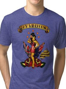 Amy Winehouse Tri-blend T-Shirt