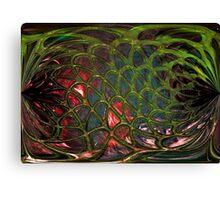 Green Net Canvas Print