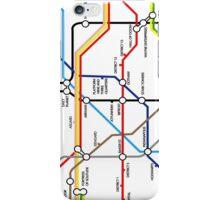 Fantasy Underground Map iPhone Case/Skin