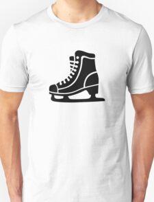 Black ice skate Unisex T-Shirt