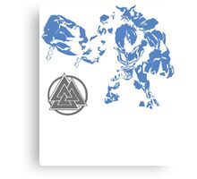 Smite- Ymir Father of Frost Giants Canvas Print
