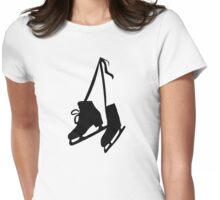 Skates Womens Fitted T-Shirt