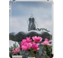 Fountain Detail - Pinelawn Memorial Park And Garden Mausoleums | Farmingdale, New York iPad Case/Skin
