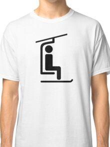 Ski Chairlift Classic T-Shirt