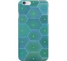 Hexagon Ripples iPhone Case/Skin