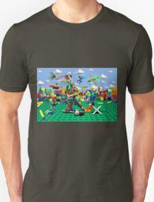 Woody vs the Little Guys Unisex T-Shirt