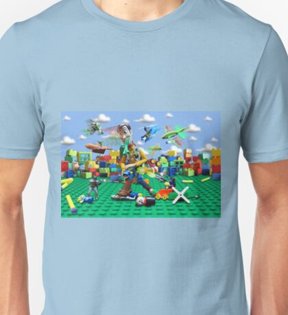 Woody vs the Little Guys Unisex T-Shirt