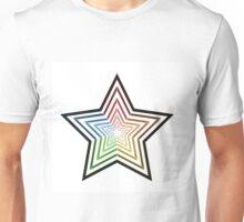 Rainbow Star Unisex T-Shirt