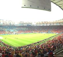 Maracanã, Chile v Spain by omhafez