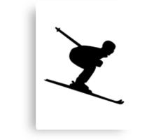 Downhill Skiing Canvas Print