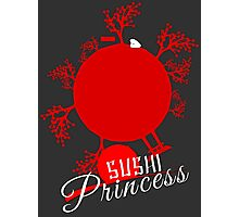 Sushi Princess: World Photographic Print
