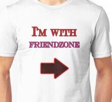 I'm with Friendzone Unisex T-Shirt