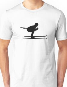Downhill ski skiing Unisex T-Shirt