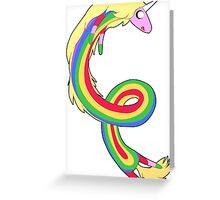 Lady - Adventure Time Greeting Card