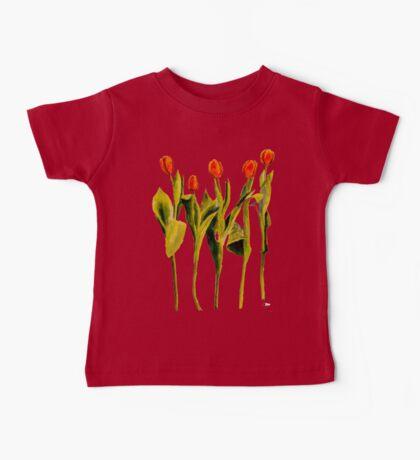 Five Tulips Baby Tee