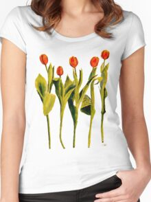 Five Tulips Women's Fitted Scoop T-Shirt