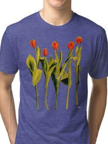 Five Tulips Tri-blend T-Shirt