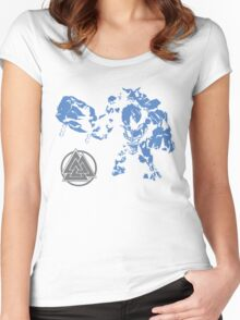 Smite- Ymir Father of Frost Giants Women's Fitted Scoop T-Shirt