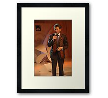 AXA CEO-Henri de Castries Framed Print