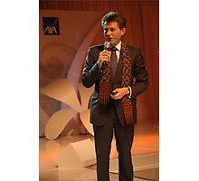 AXA CEO-Henri de Castries Photographic Print