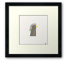 Chief Penguin Framed Print