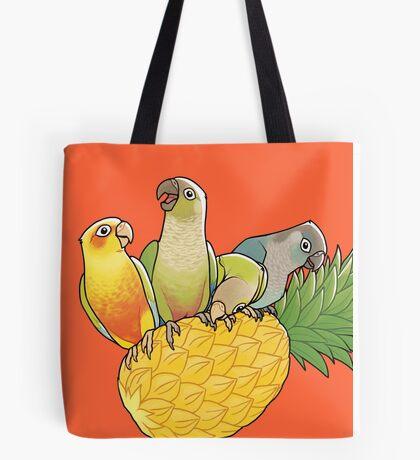 Green Cheek Paradise Tote Bag