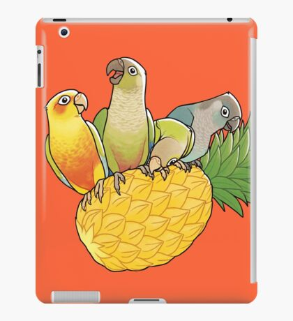 Green Cheek Paradise iPad Case/Skin