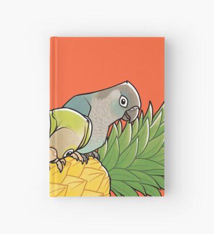 Green Cheek Paradise Hardcover Journal