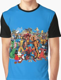 Comic Book Graphic T-Shirt