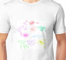 Pastel Goth Fangs Unisex T-Shirt