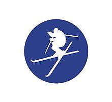 Freestyle skiing Photographic Print