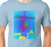 Abstract in the Blue Water Gradation Unisex T-Shirt