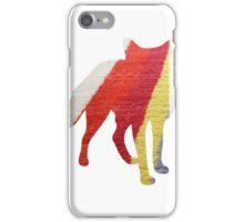 Stripy Fox iPhone Case/Skin