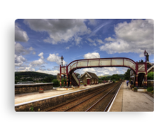 Settle Railway Station Canvas Print
