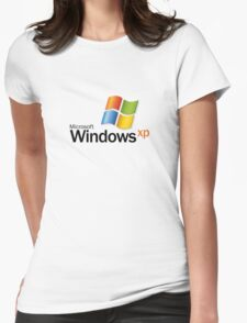 Windows XP Womens Fitted T-Shirt