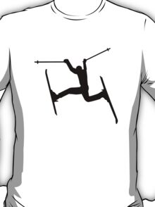 Crazy Freestyle skiing T-Shirt