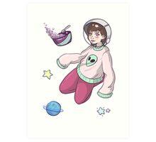 Pastel Space *u* Art Print