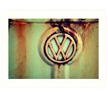 The incomparable VW...Thing Art Print