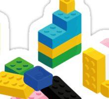 LEGO house Sticker
