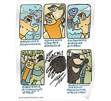 Say No to Wildlife Selfies Poster