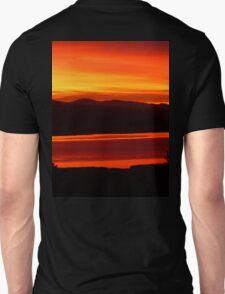*Magenta Scarlet Red Sun Up* Unisex T-Shirt