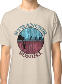 Stranger Things The Upside Down Classic T-Shirt