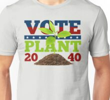 It's 2040. Our President is a Plant! Unisex T-Shirt